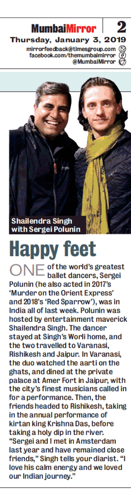 Mumbai Mirror. 03 Jan 2019