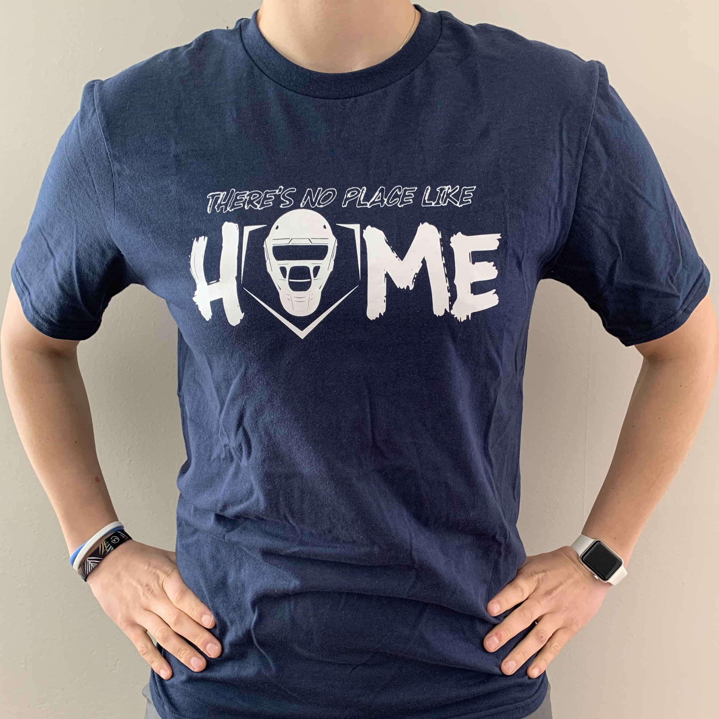 """""""There's No Place Like Home"""" Cotton T-Shirt  $20"""