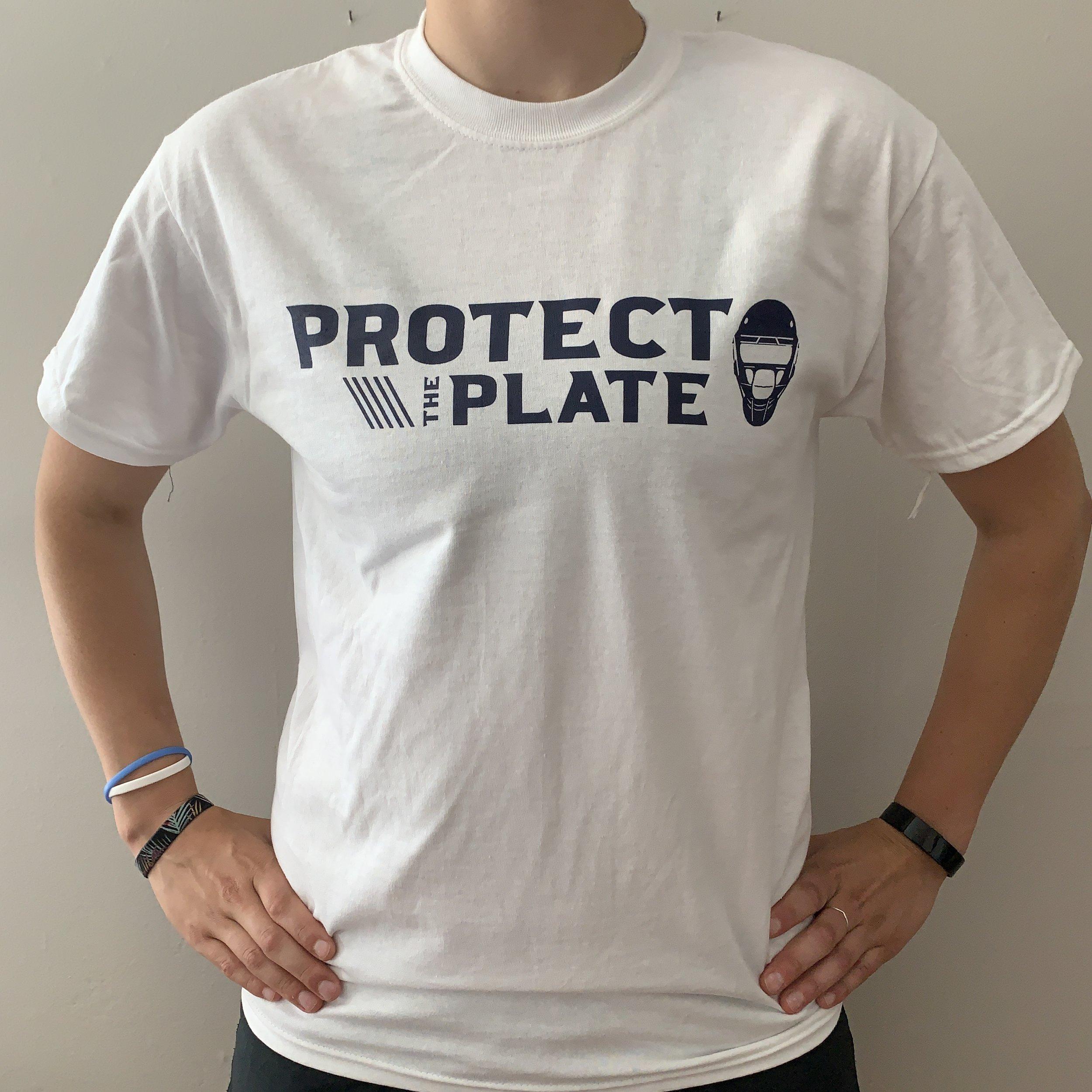 Wordmark Logo Cotton T-shirt – White  $20