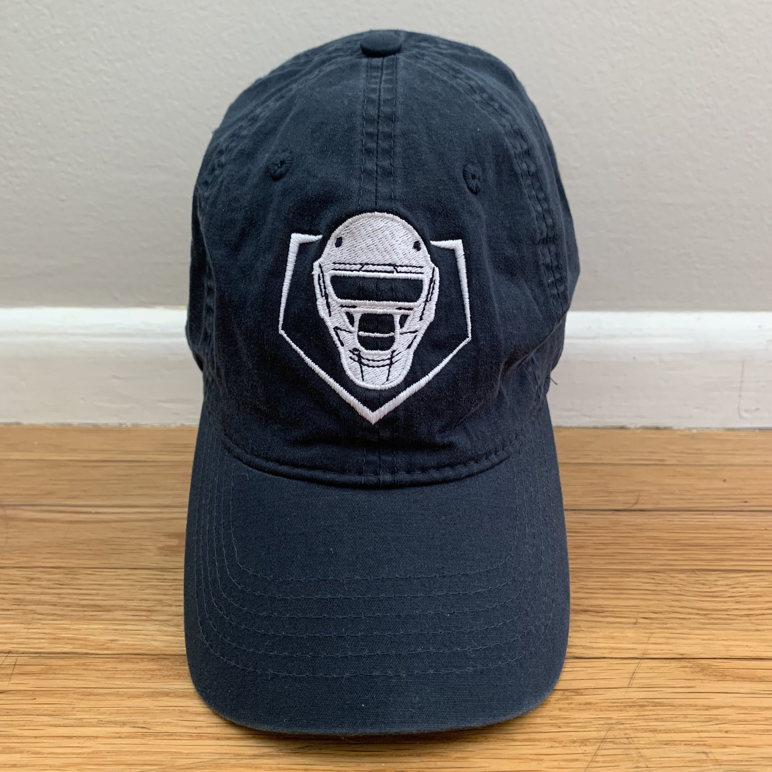 Cotton Hat w/ Buckle Back – Navy  $25