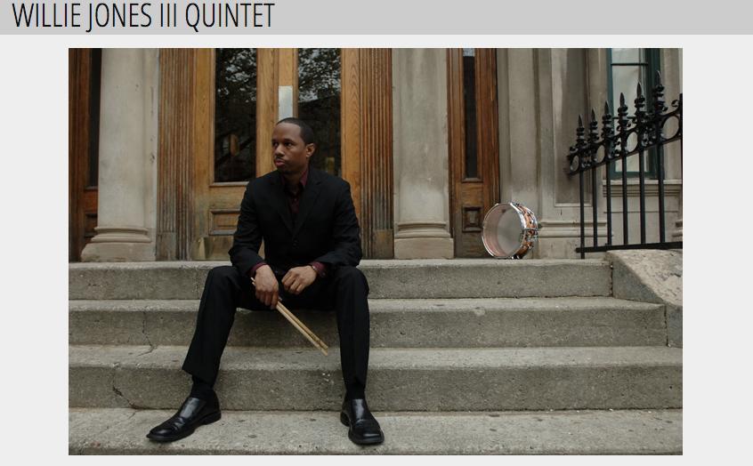 WILLIE JONES III QUINTET   JeremyPelt[trumpet]  RalphMoore[saxophone]  EricReed[piano]  GeraldCannon[bass]  WillieJones III[drums]