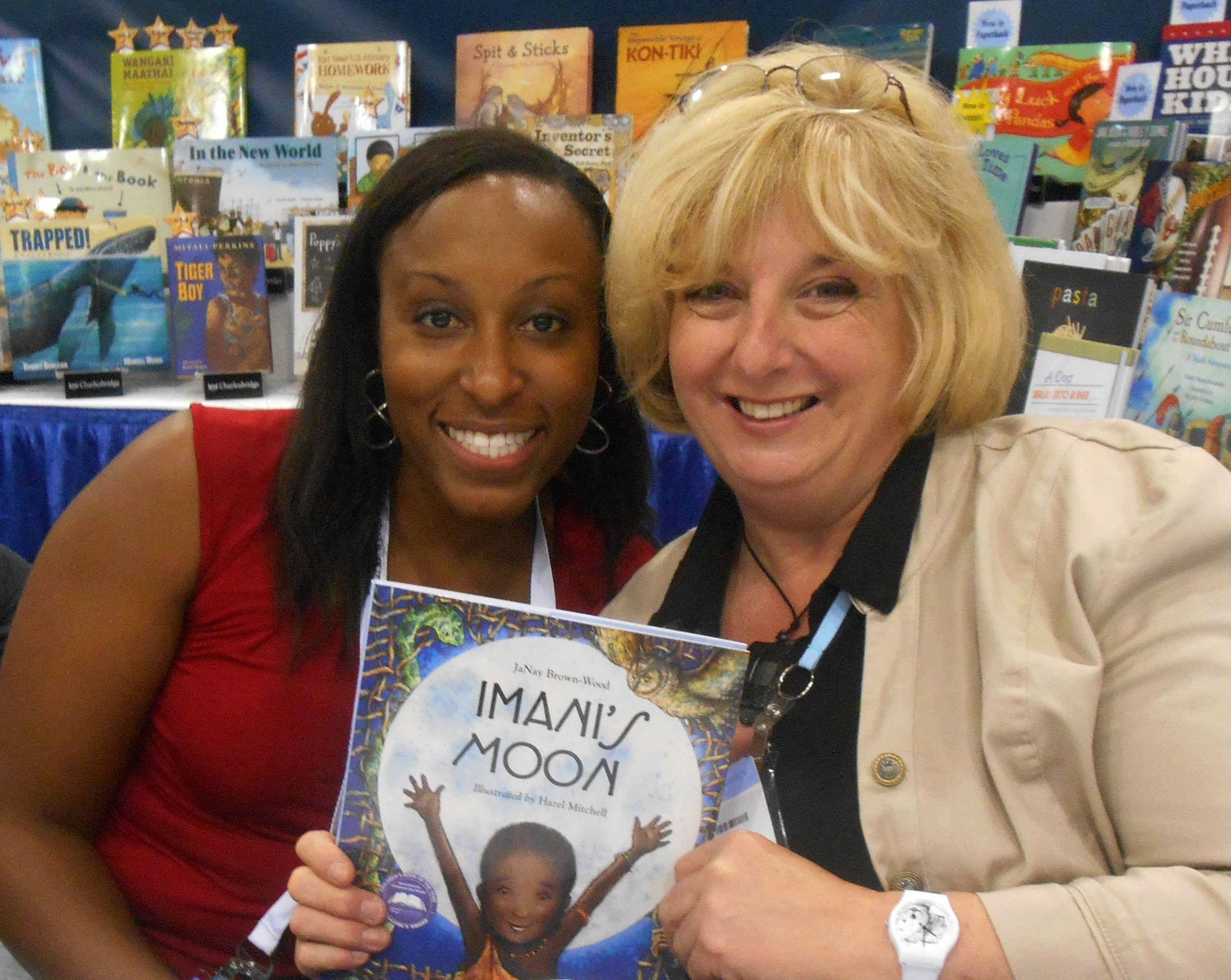 With JaNay Brown-Wood at Charlesbridge Publishing.