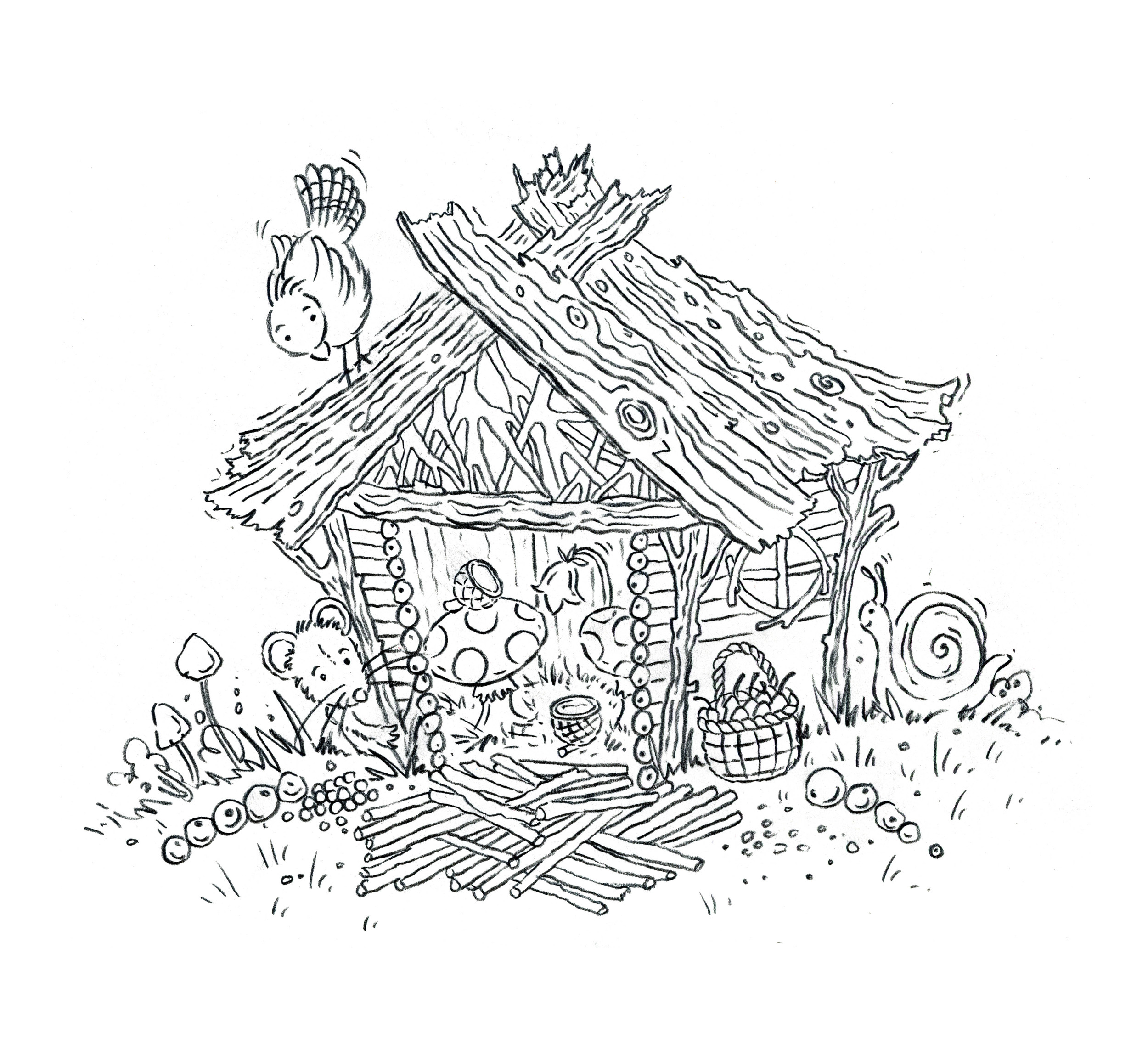 Original drawing from the book.