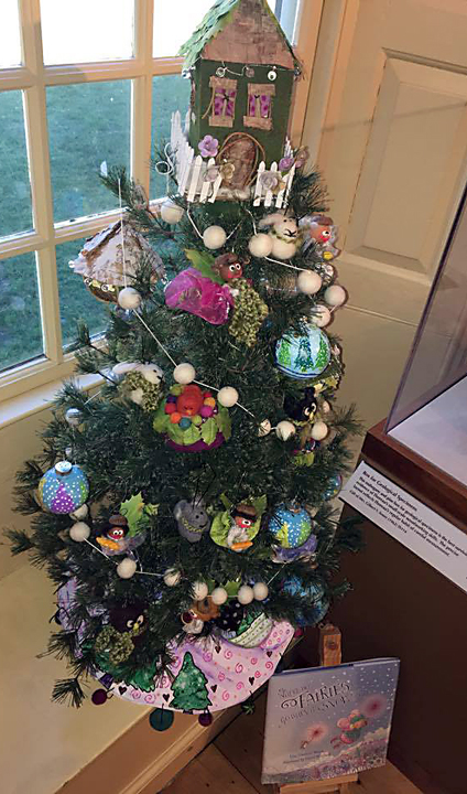 Concorde Museum, MA chose our tree to be one of their decorated trees for Christmas. How fun it was to see all the drawings come to life!