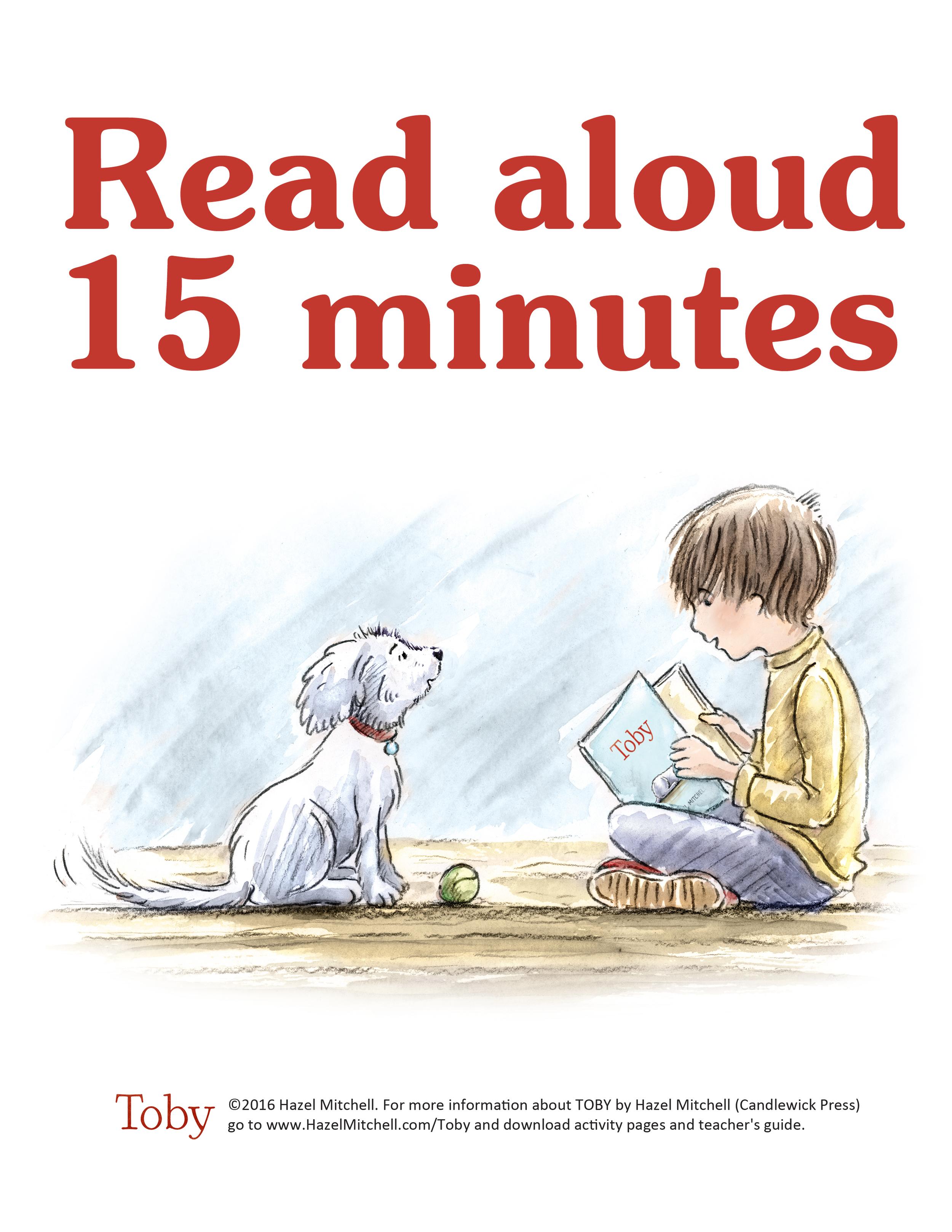 Read aloud 15 minutes