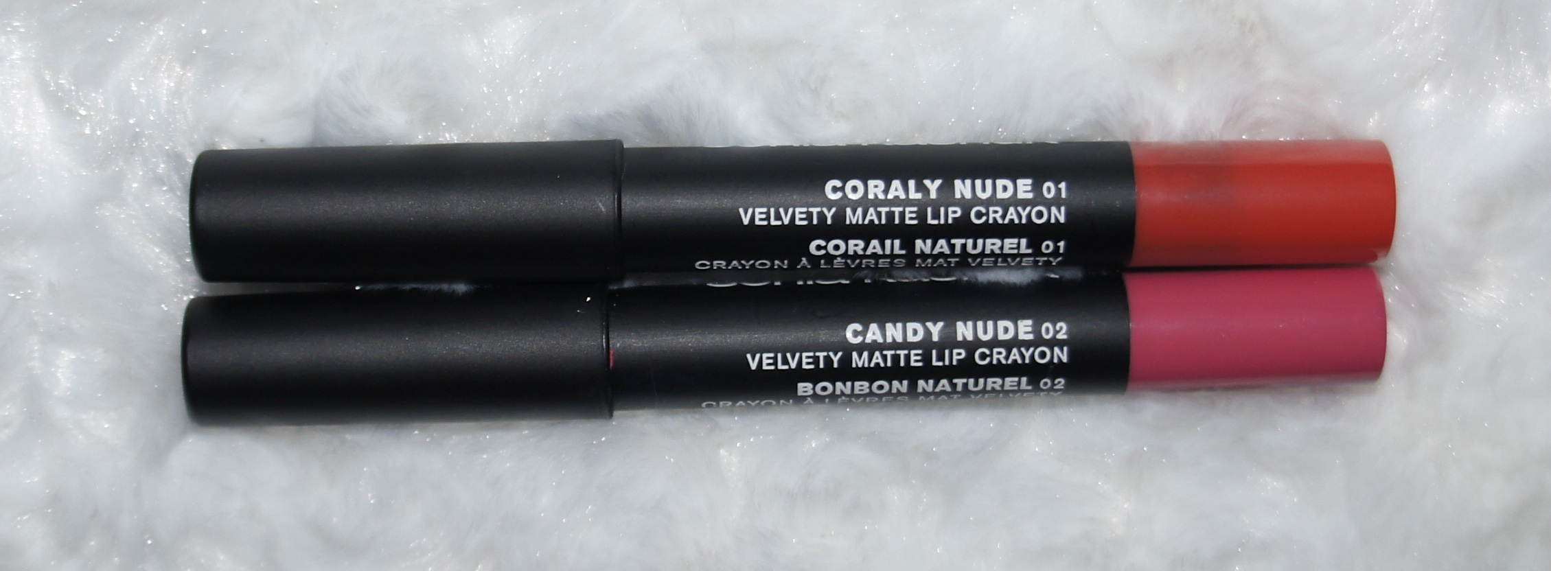 Sonia Kashuk Spring 2014 Collection - Velvety Matte Lip Crayon(Candy Nude, Coraly Nude)