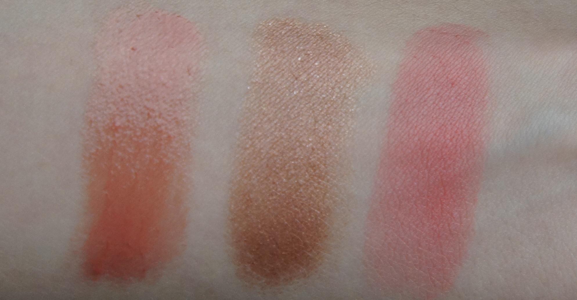 Sonia KashukShine Luxe Sheer Lip Colour (Nirvana),Sonia KashukSahara Sunset Bronzing Blush Stick (Marrakesh),Sonia KashukSahara Sunset Blusher (Casablanca)