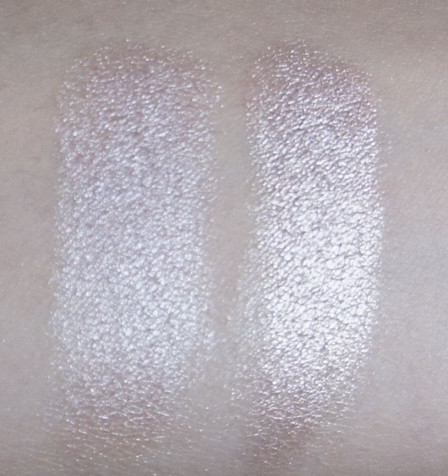 (LEFT) Sonia Kashuk -Eye Couture - Eye on Neutral Shimmer 3 (Eyeshadow #2)  (RIGHT) Urban Decay - NAKED Palette (Sin)