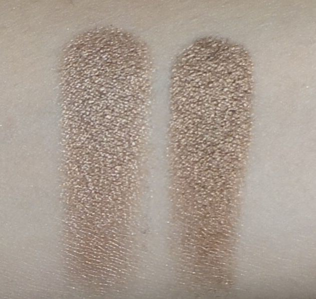 (LEFT) Sonia Kashuk - Eye Couture - Eye on Neutral Shimmer 3 (Eyeshadow #6)  (RIGHT) Urban Decay - NAKED Palette (Smog)