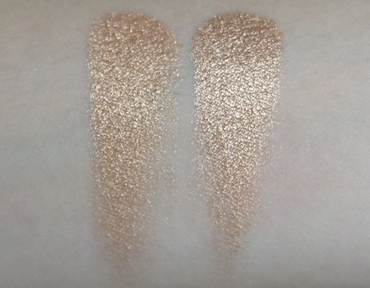 (LEFT) Sonia Kashuk -Eye Couture - Eye on Neutral Shimmer 3 (Eyeshadow #7)  (RIGHT) Urban Decay - NAKED Palette (Baked)