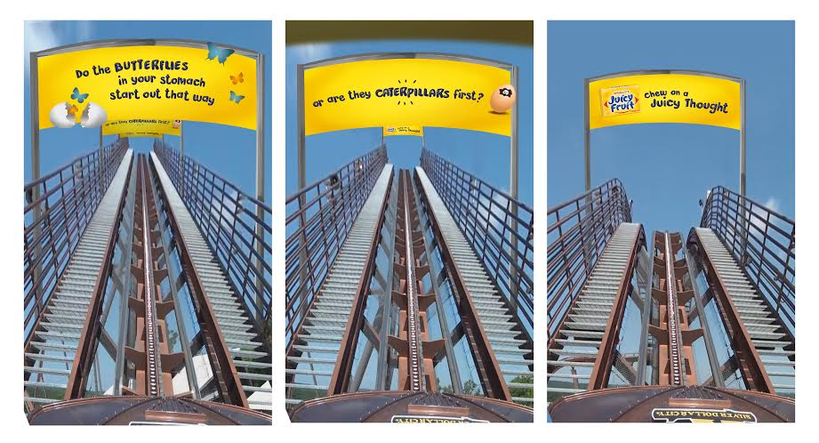 SEQUENTIAL ROLLER COASTER BILLBOARDS