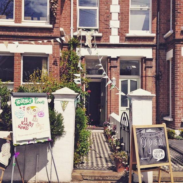 11 Rugby Road on the Artists' Open Houses