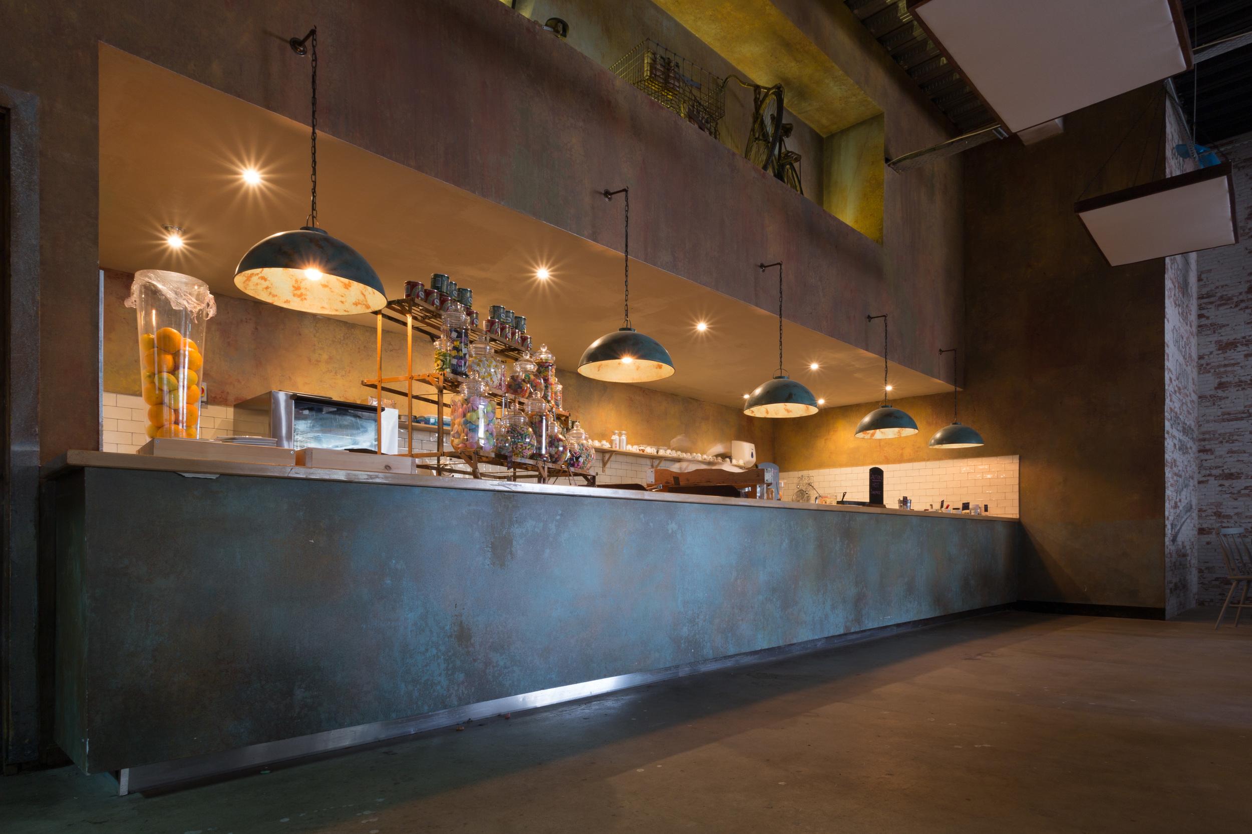 Interior of the Salt and Good Restaurant, Stevenage.