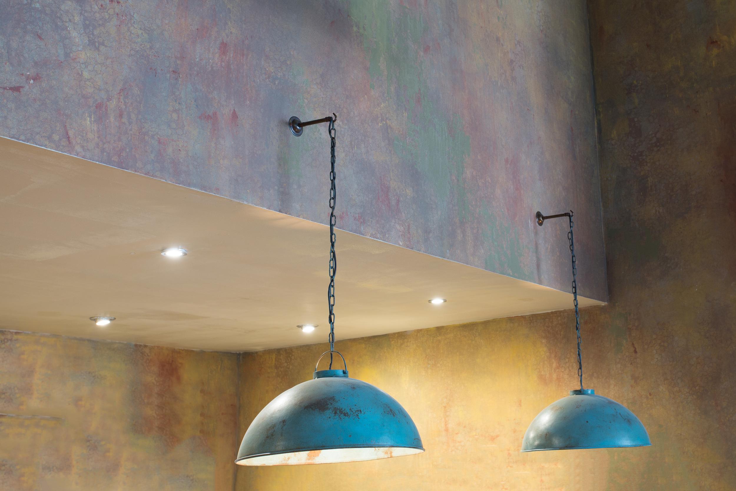 Detailed interior of the Salt and Good Restaurant, Stevenage.