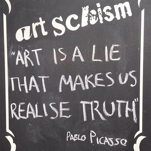 Art Schism - Cooperative member: Street Art Gallery from Brighton. Meant to be a pop up, it lasted 2 years.