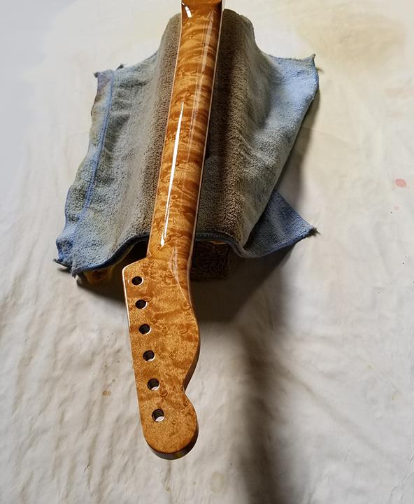 Custom paint The Guitar Spa