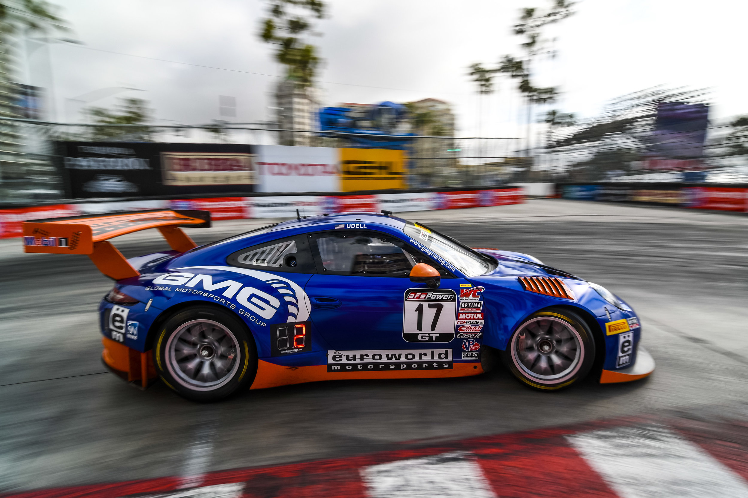 2017- Long Beach- Alec Udell in the Long Beach Hairpin. Image courtesy of PCNA.