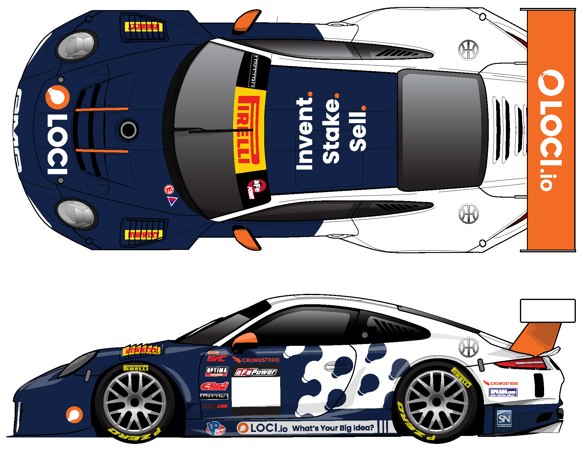Alec will be sporting a new livery on the GMG-prepped Porsche 911 GT3 R through his partnership with Loci.