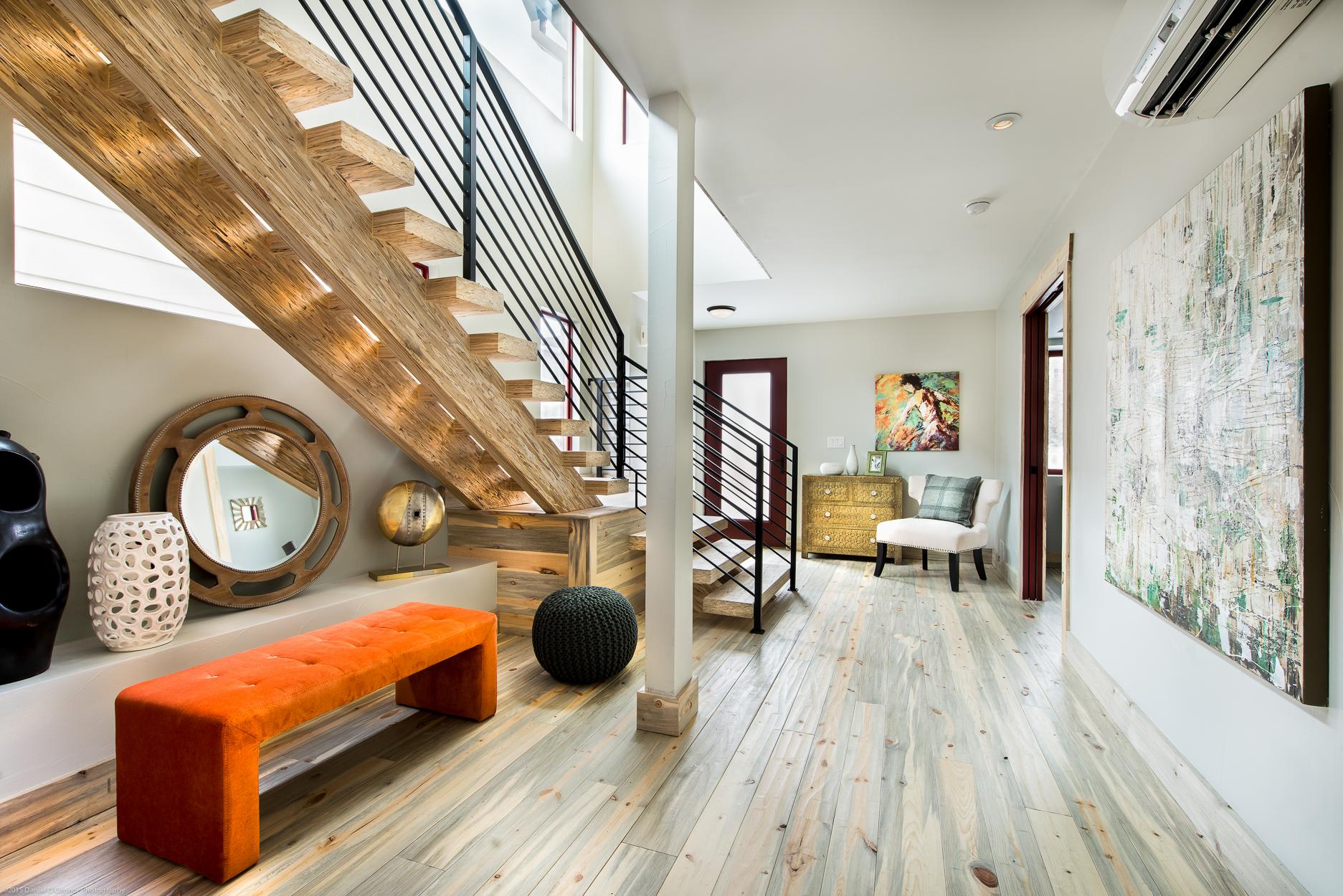 Foyer & Parallam Custom Stair