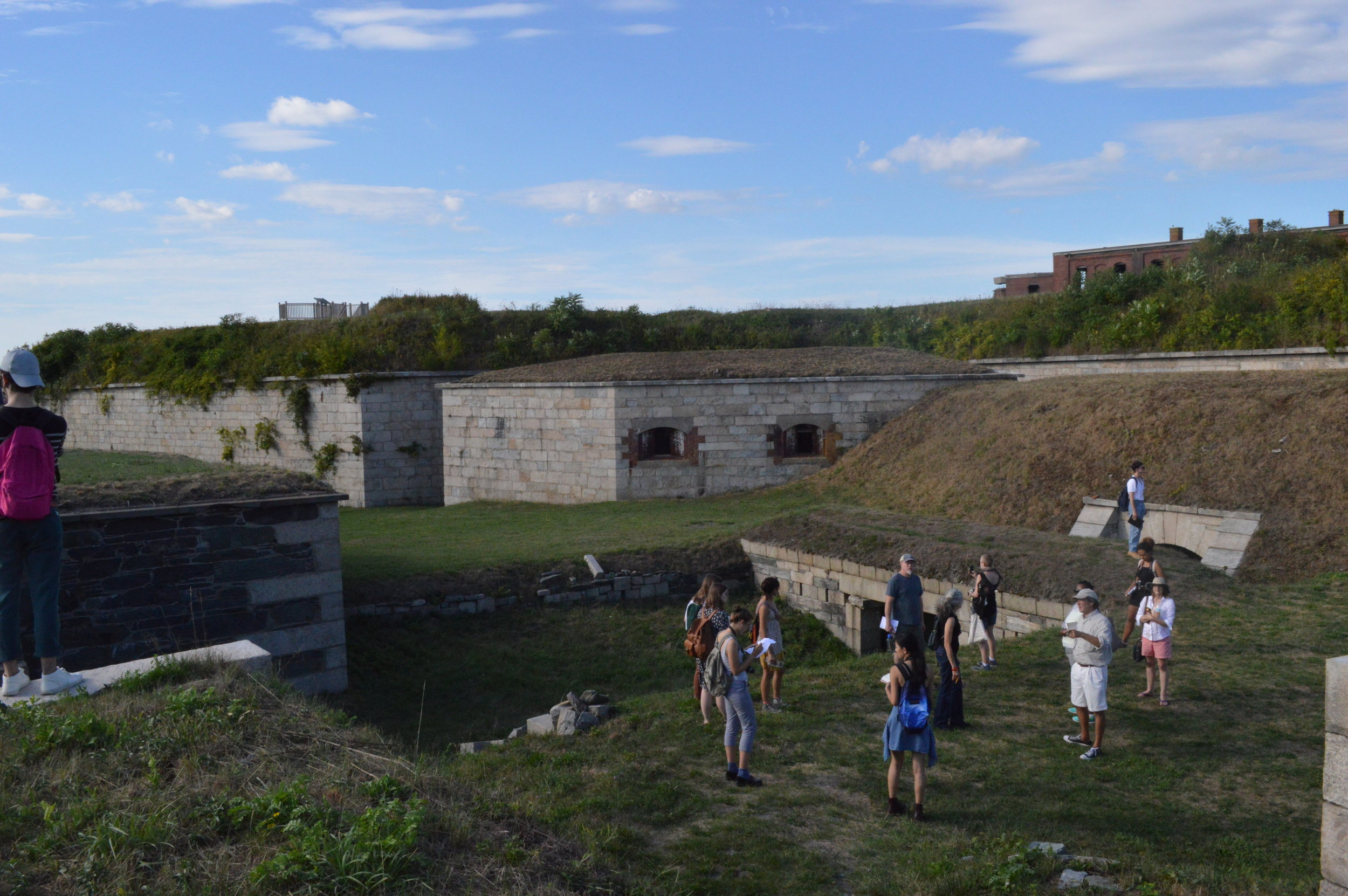 Reverberations - Fort Adams, Newport, RI