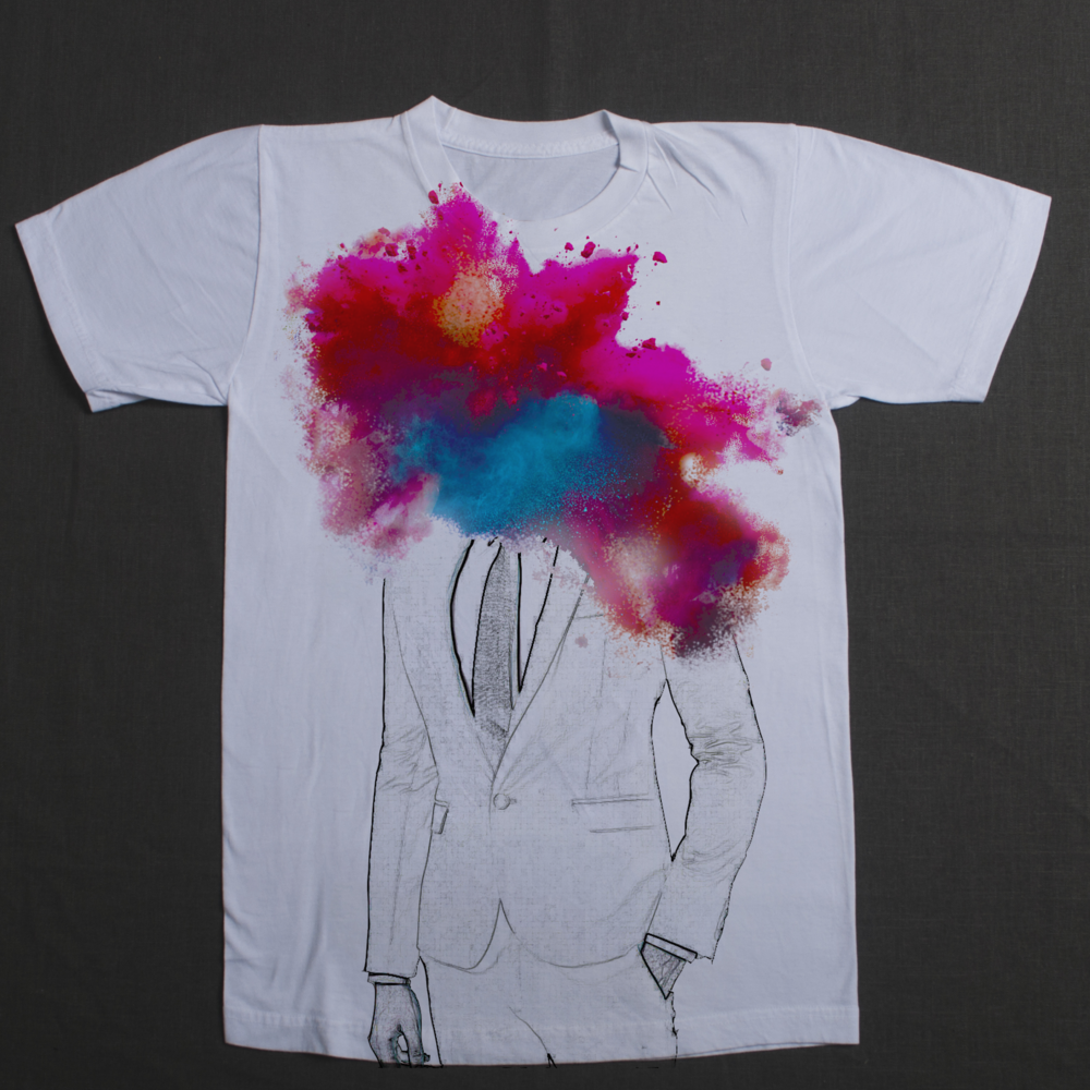 Color Head Explosion Shirt