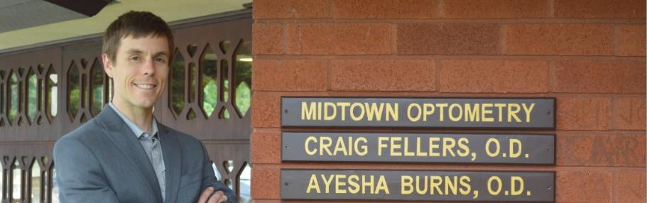 Midtown Optometry Dr Craig Fellers and Ayesha Burns