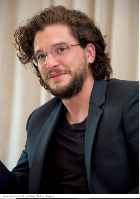kit harington wearing glasses