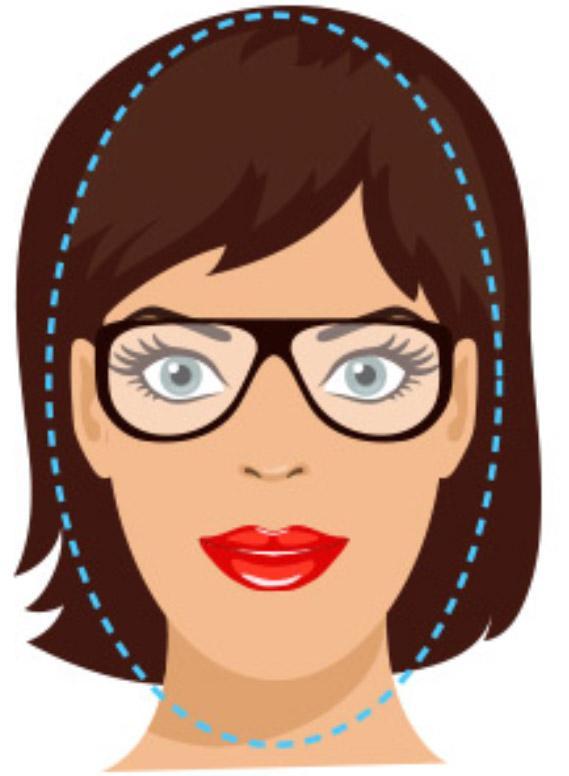oval face shape glasses