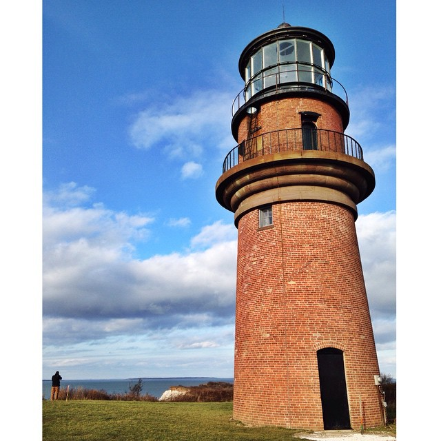 Spring is upon us! Soon, we'll start to move Martha's Vineyard's Gay Head Lighthouse to stop it from falling off the eroding bluff. #lighthouse #erosion #marthasvineyard #construction