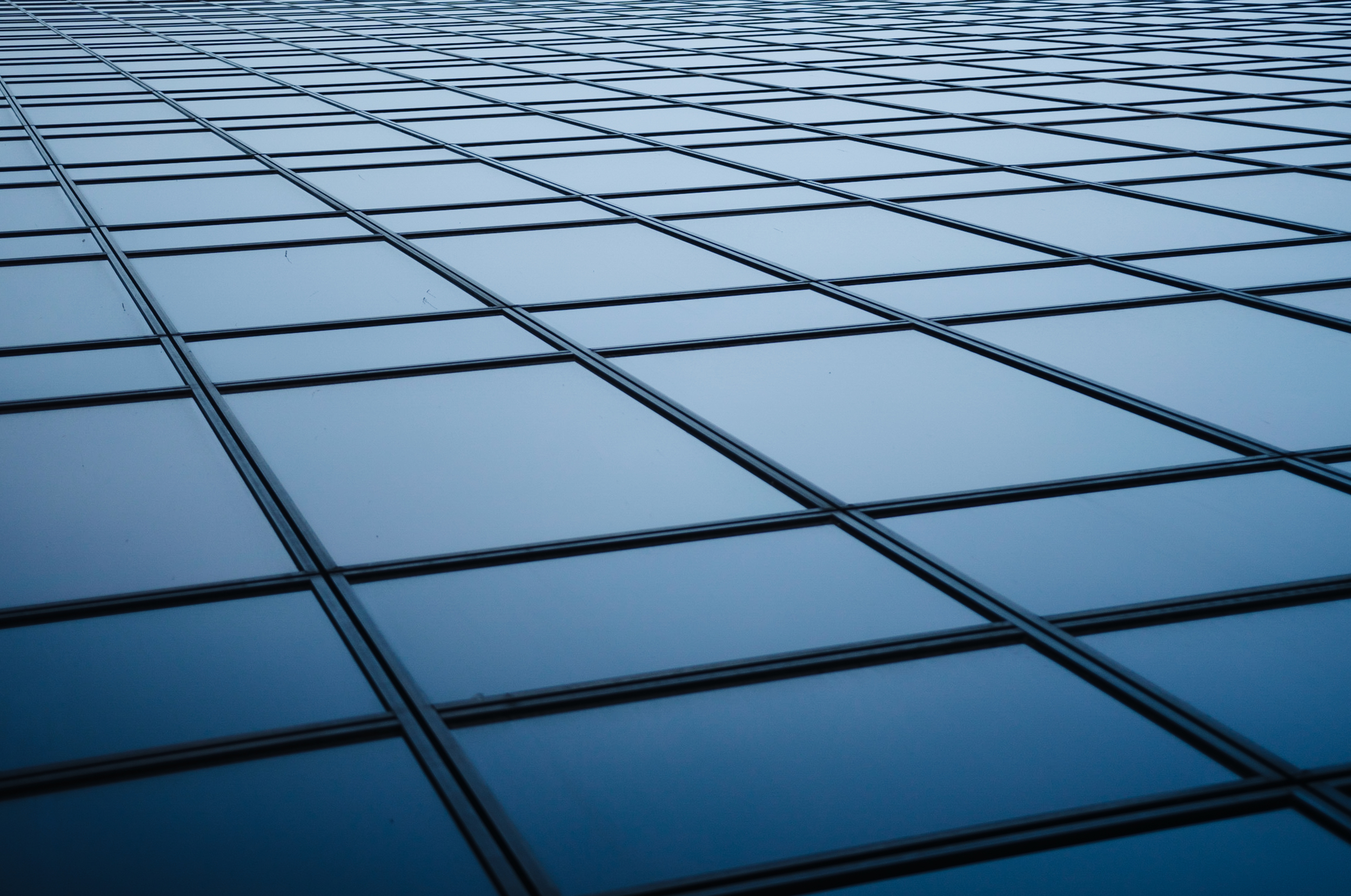 Boundless  - Imagine rain traversing down these perfect tiles of glass.