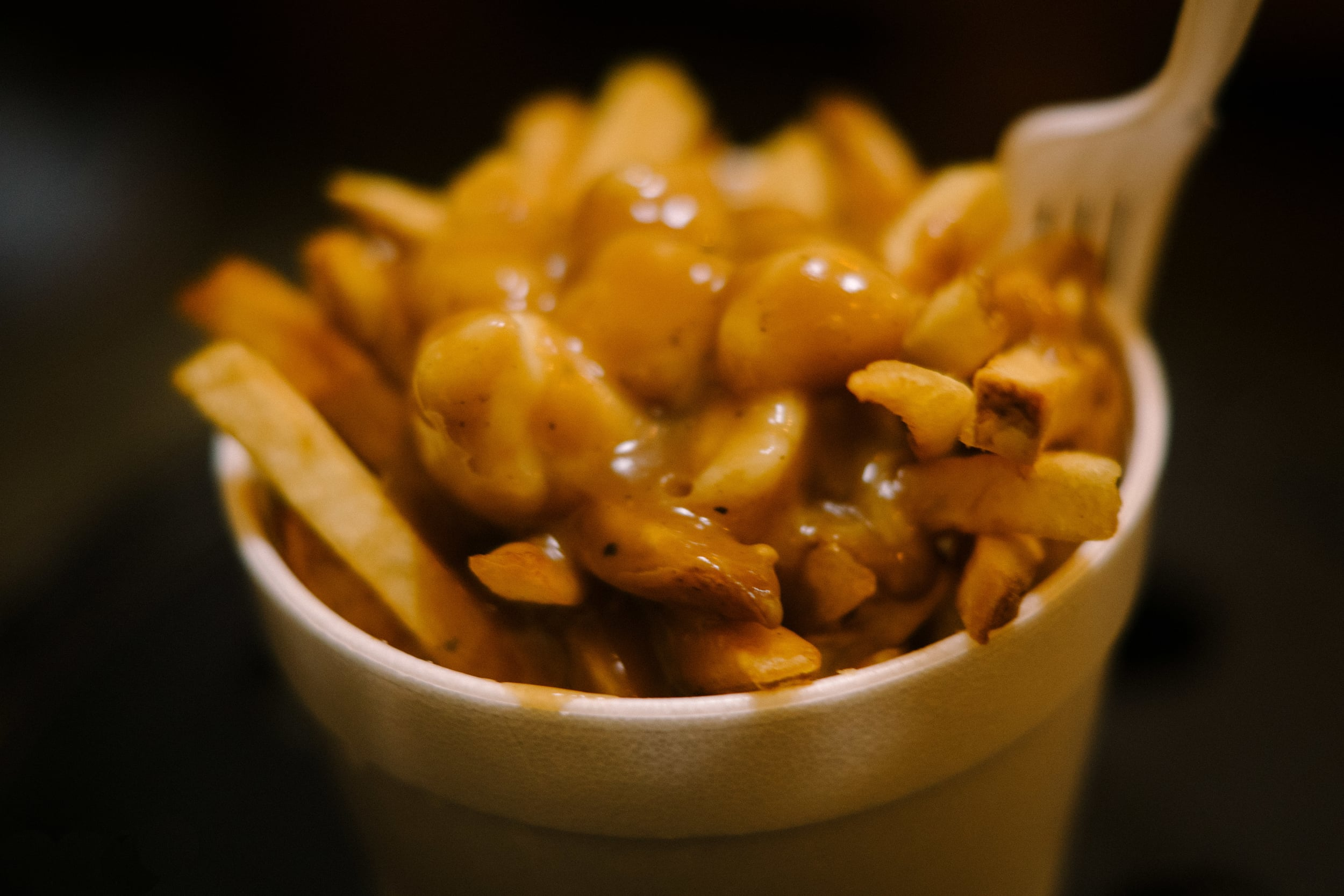 What is winter vacation without a hearty bowl of poutine?