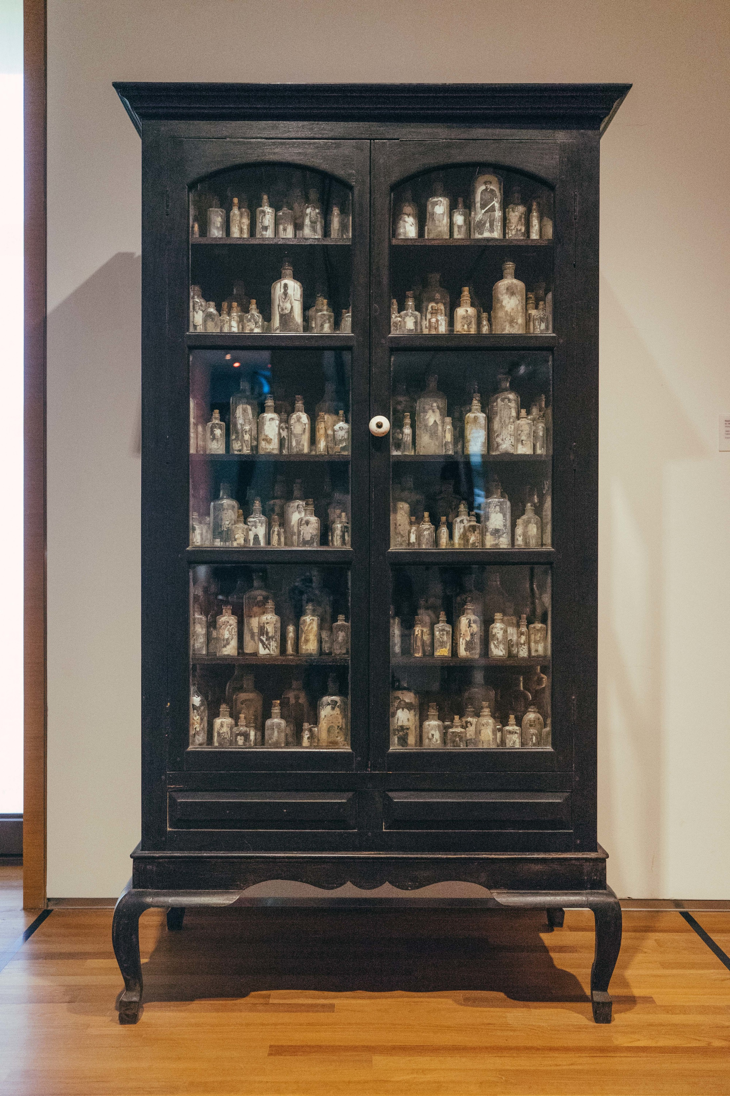 Each story crammed into a bottle. Multiple generations crammed into an armoire.
