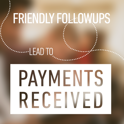 Be Nice, Get Paid: Why Friendly Follow-ups Work