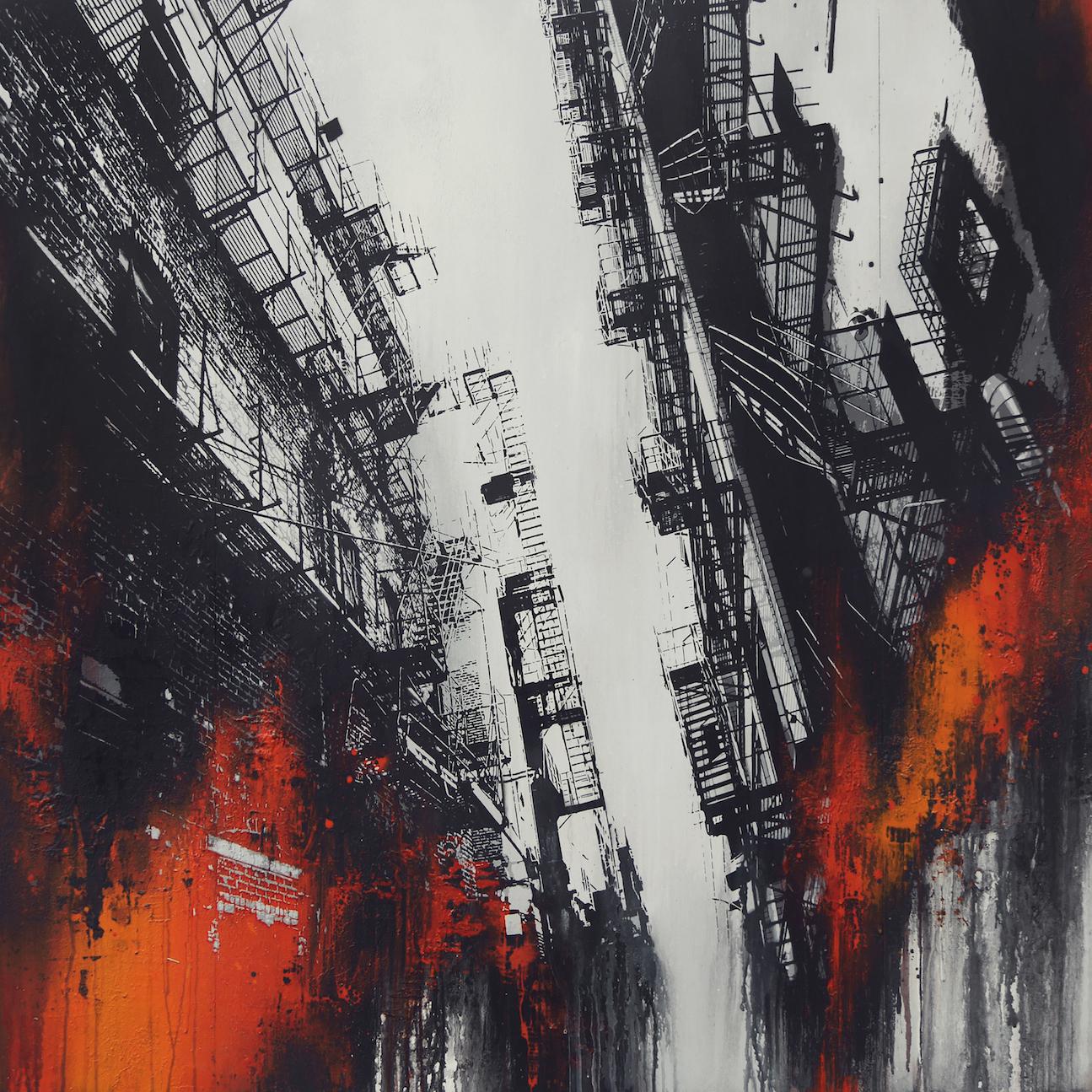Vertical Escapism No. 1 (Red)