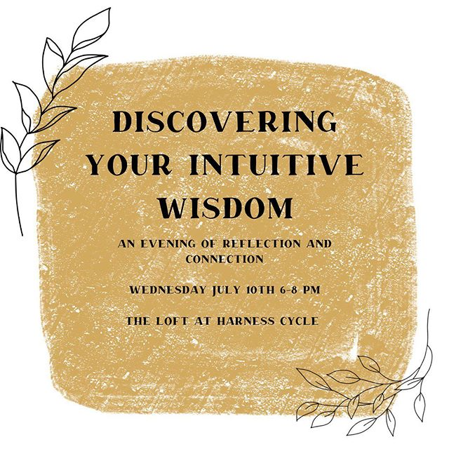 I love talking about following your own intuition. So many of the messages out there are about how to follow someone else's guidelines that it can be easy to shut down your own inner wisdom. But that leaves us disconnected from the one person you spend the most time with, YOU! I'm so excited to be a part of a live podcast that is all about discovering your inner wisdom! Hosted by @muse.room and @findingyourshinepodcast ⠀ There are only a few spaces left. Grab your spot! Link in bio ⠀ Deets 👇 ⠀ Discovering Your Intuitive Wisdom: A Night of Reflection & Connection ⠀ Wednesday, July 10th 6-8pm ⠀ Get cozy as you explore what it means to go inside yourself and connect to your intuitive wisdom. ⠀ This live podcast event features guests Debi Darnell, Nikki Lang @namastenik and Claire Edwards @heyitsclaireedwards as we discuss all things intuition, identifying fears, and taking empowered action. Hosted by two of your favorite local Ohio podcasts - Muse Room and Finding Your Shine!