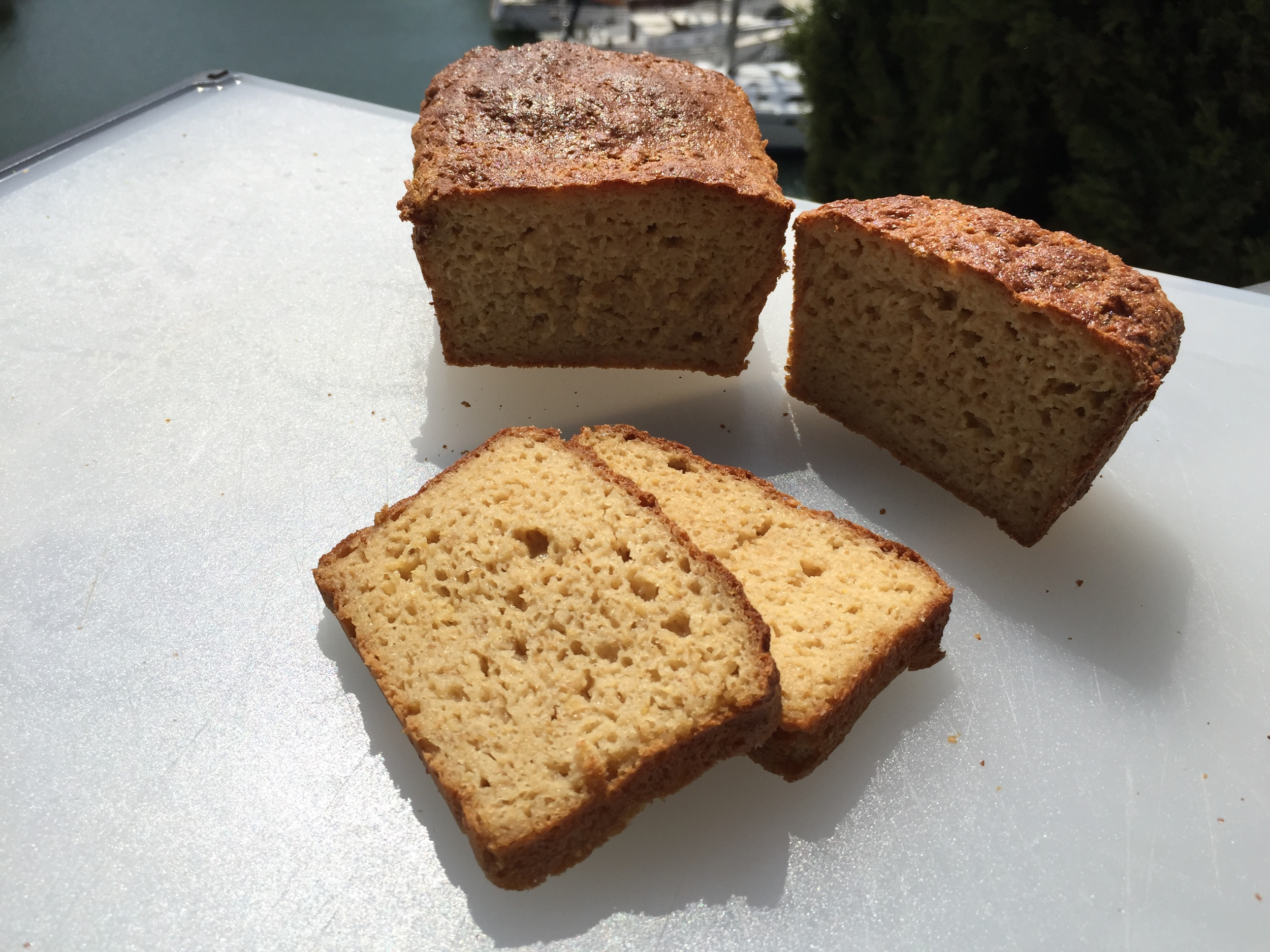 Unlike anything on the market, we don't use apple cider vinegar. Our breads are amazing and tasty without that lingering vinegar after-taste and smell.