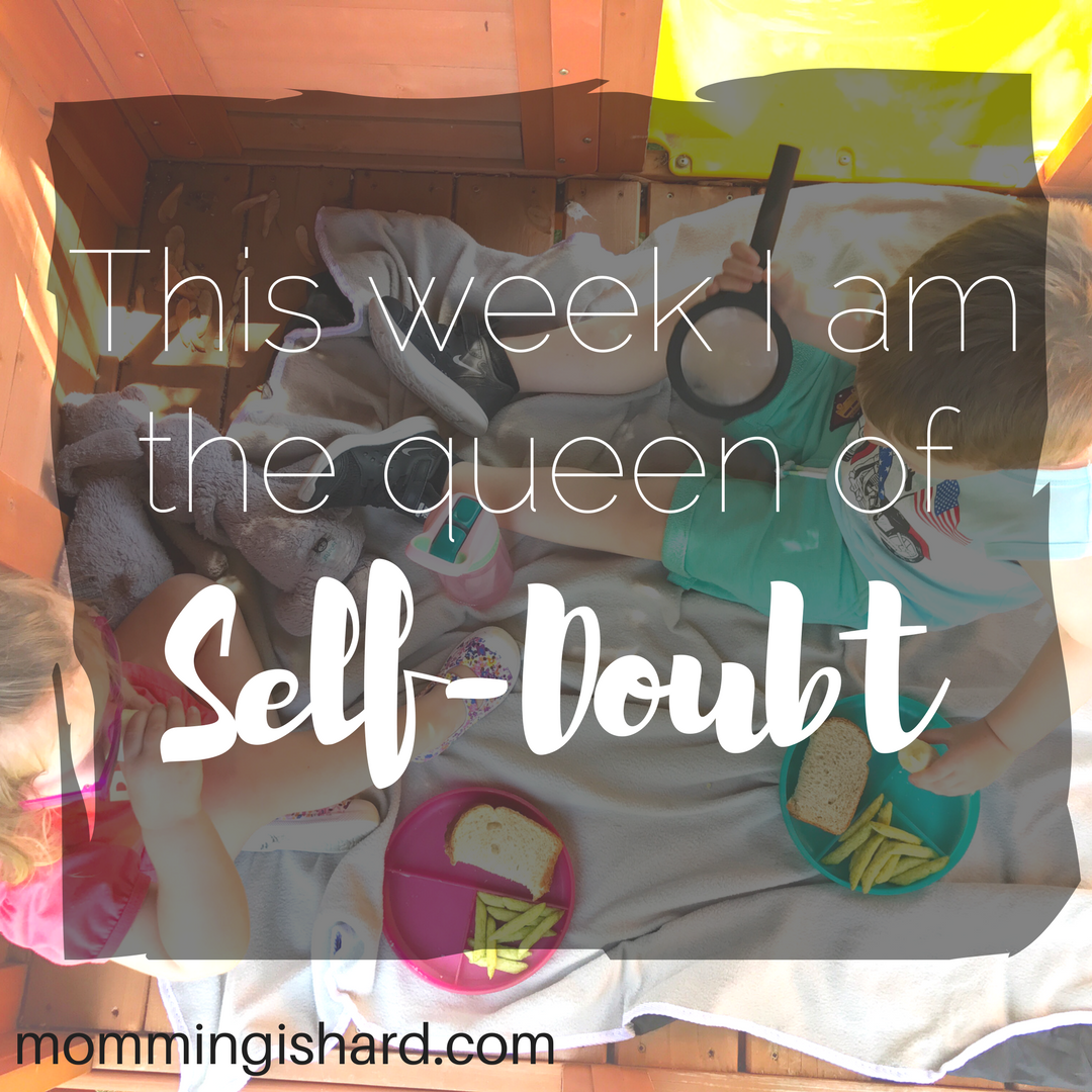 On Self-Doubt: The more intense the self doubt, the more important it is for you to keep moving forward. The enemy knows how important you are to God's plan, so he's going to try his absolute hardest to get you to doubt yourself.