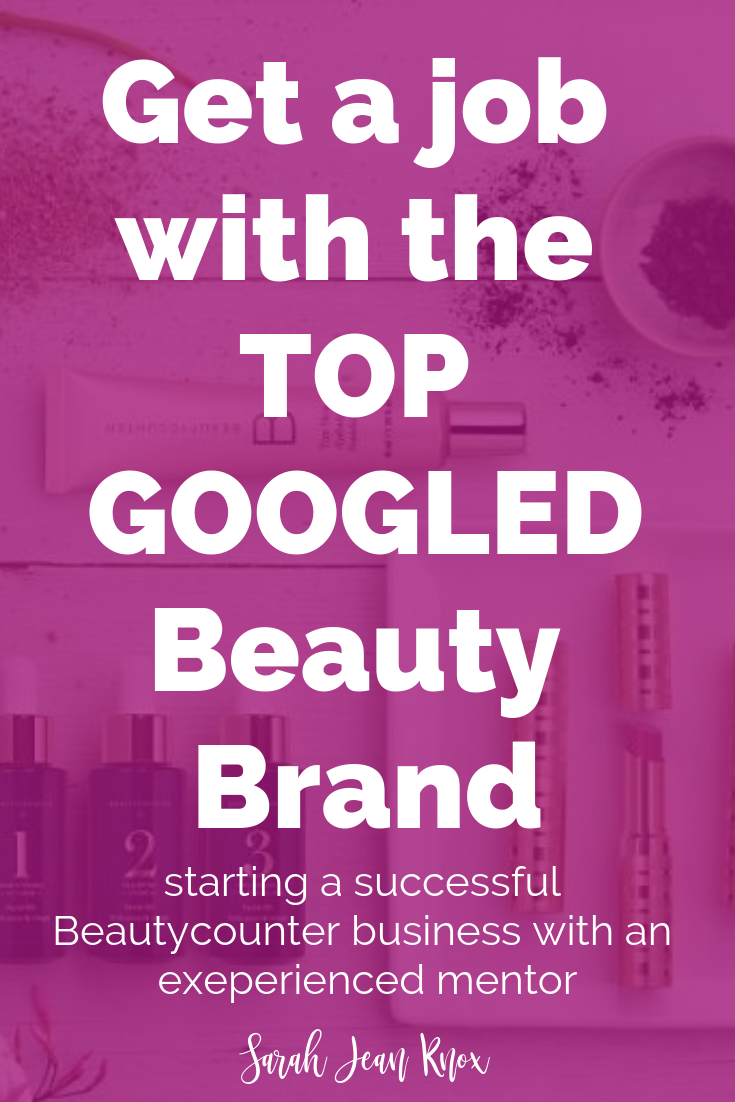 Start a business with the beauty brand that everyone wants to know about | How to start a business with Beautycounter | Become a Beautycounter Consultant