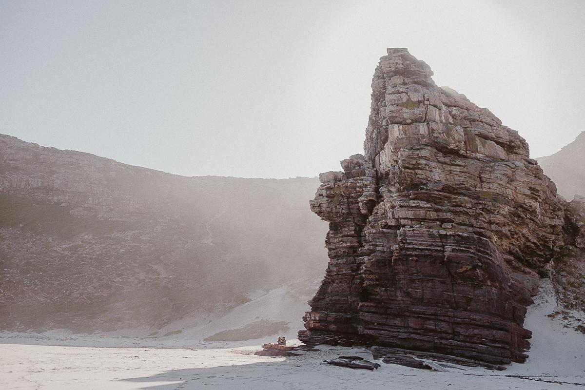 Beach couple shoot in Cape Town