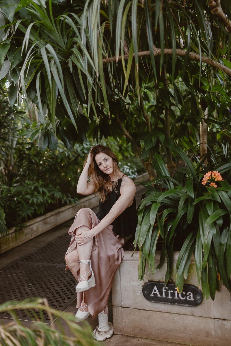 Kew Garden portrait session