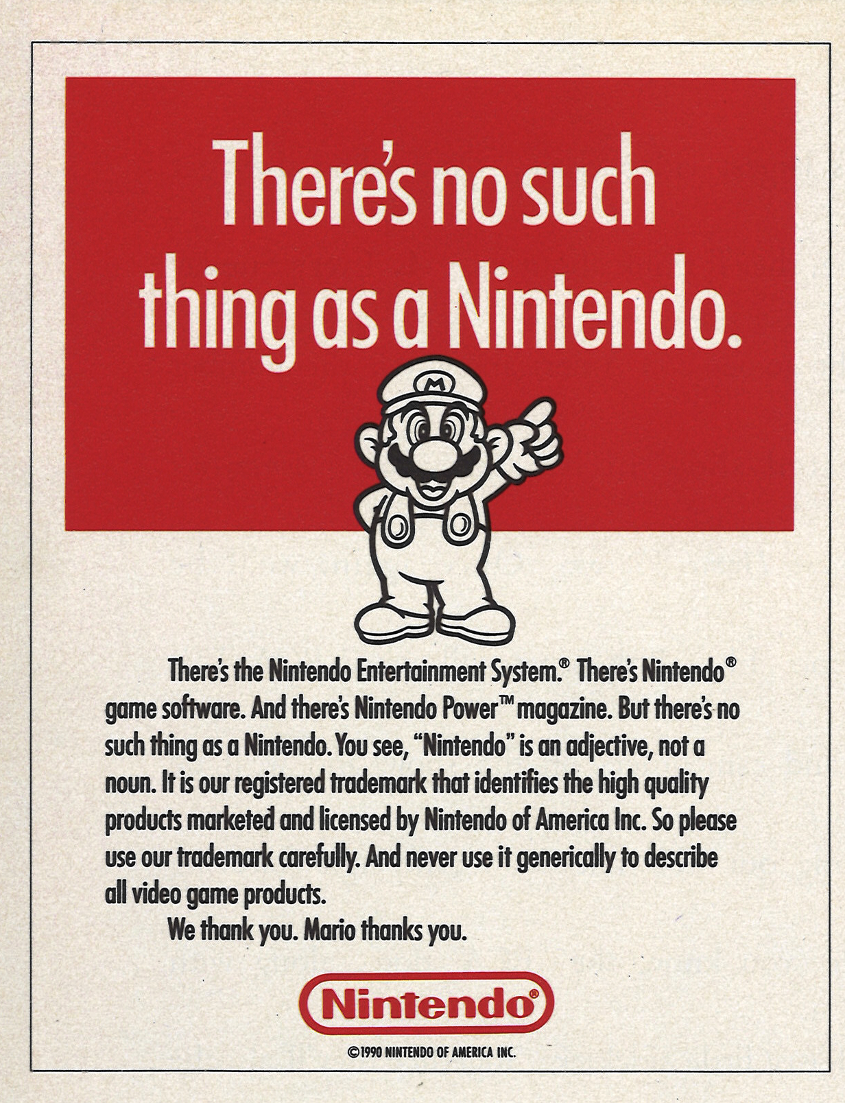 There's No Such Thing as a Nintendo.jpg
