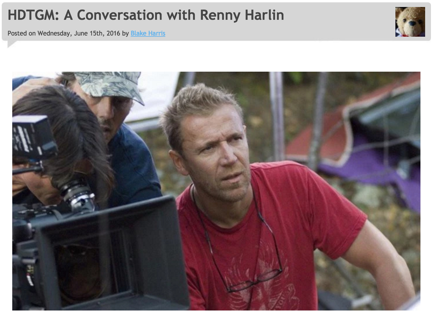 6/15/16: BONUS (A Conversation with Renny Harlin)