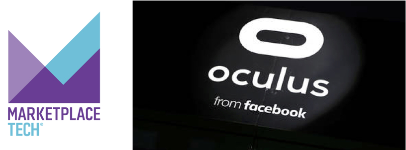 NPR's MARKETPLACE   PART 2: How much did the rise and stall of Oculus have to do with Facebook?