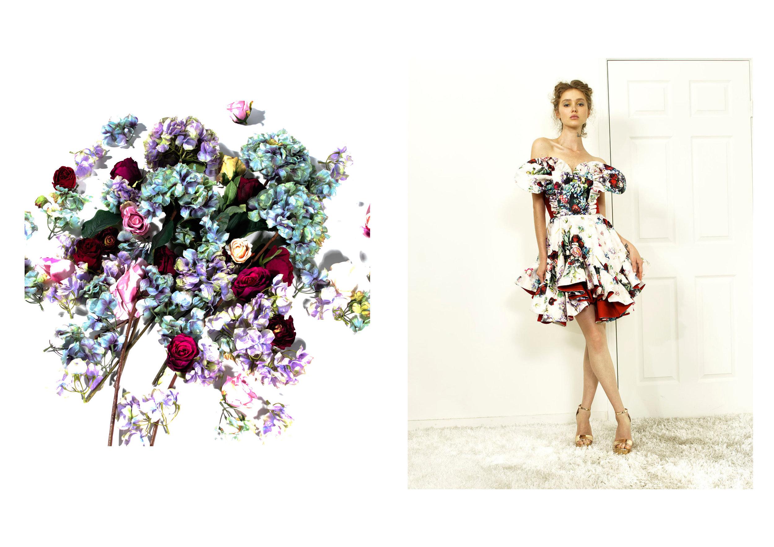 Sienna Li Couture Dress Textile