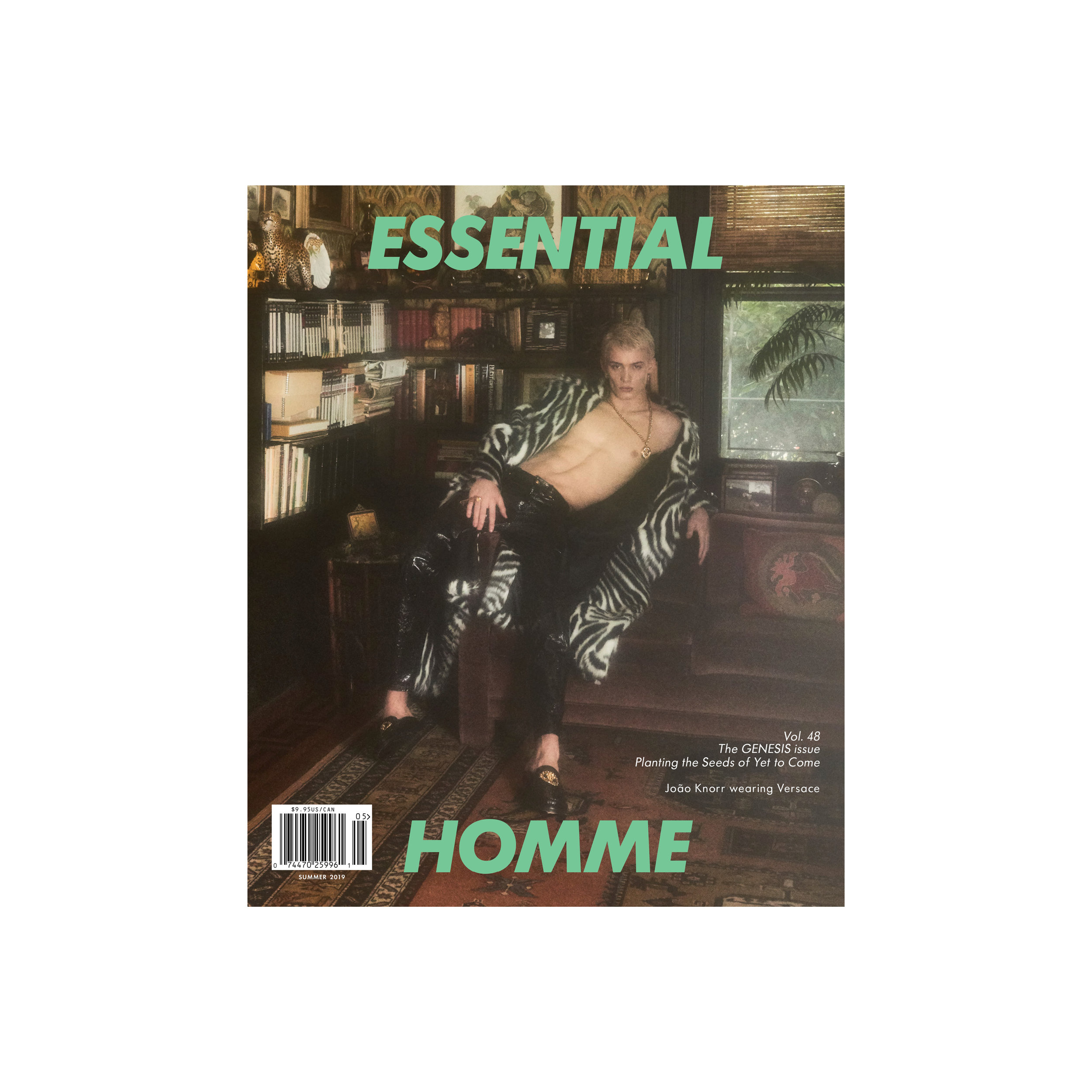 Essential Homme Summer 2019 Cover Story