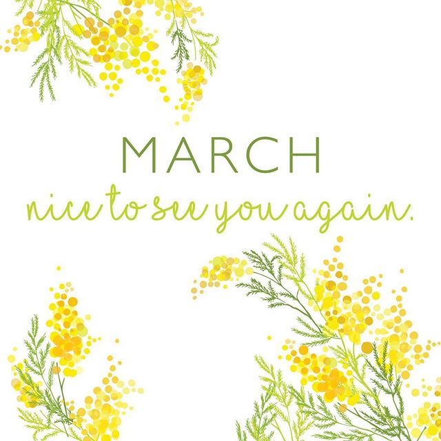 Even though I live in New England and there is snow on the ground (and more to come) something about March gives a little glimmer of hope that Spring is on the way! 🍀🌷🐥 Happy 1st day of March!  #spring #happymarch #kimberlylindbergdesign