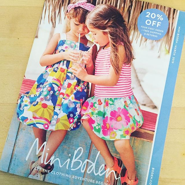 When you want everything! Great job @boden_clothing on photography & fun layout (not to mention the clothes are adorable!) . #inspiration #cataloglayout #print #photography #fun #design