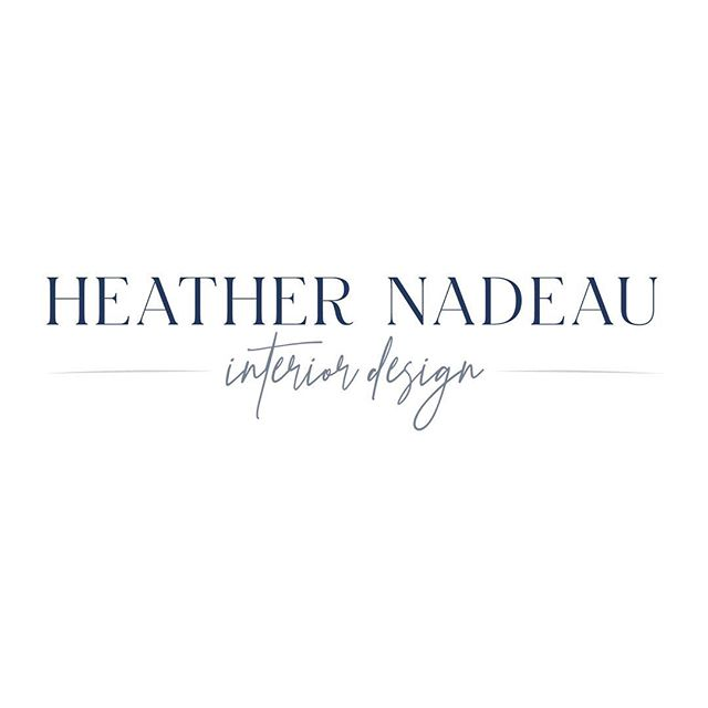Very excited to share the new look of Heath Nadeau Interior Design! 💕  @hnadeauinteriors is a talented designer based out Exeter, NH with over 15 years of experience. In need of a refresh or help with a larger renovation? Visit www.heathernadeauinteriordesign.com to learn more (New website coming soon!) #logos #branding #refresh #kimberlylindbergdesign