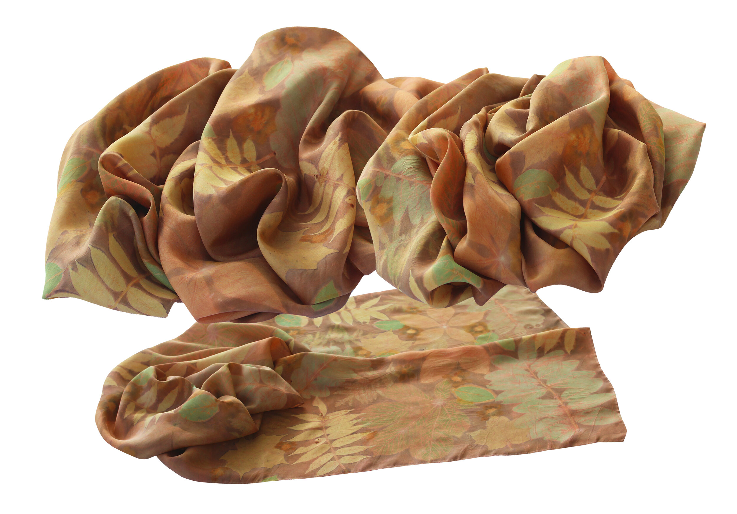 Madder–Sumac, Maple, Locust, Chestnut, Tansy, Plum, Coreopsis
