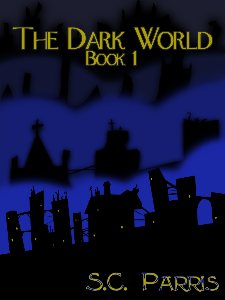 The Dark World: Book 1 Mock Cover by Ronald A. Moore